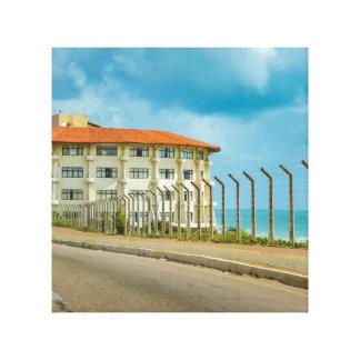 Lienzo Estilo ecléctico que construye el Brasil natal