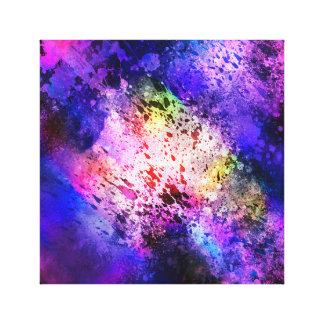 Lienzo Explosión 1 del espacio de Abstrat