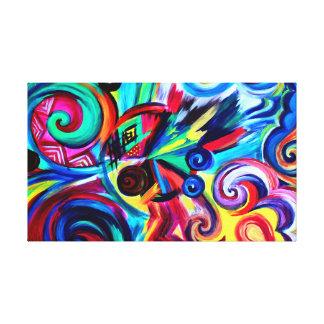 Lienzo Explosión del color