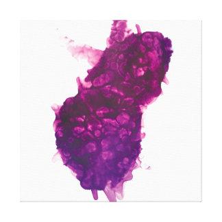 Lienzo Explosión púrpura