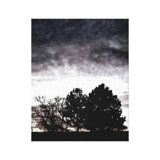Lienzo Exposición de la salida del sol