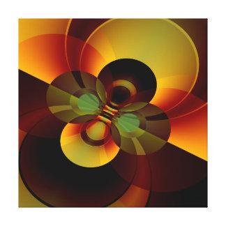 Lienzo Extracto geométrico de los círculos de Brown y del