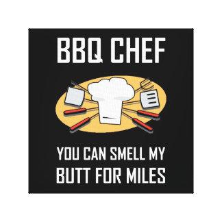 Lienzo Extremos del olor del cocinero del Bbq