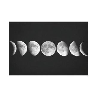 Lienzo Fases de la luna