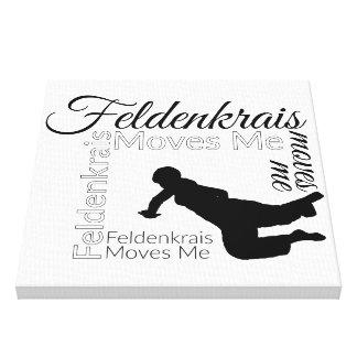 Lienzo Feldenkrais me mueve la lona el | negro y blanco