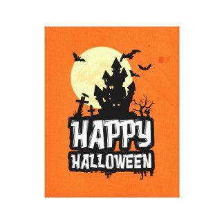 Lienzo Feliz Halloween