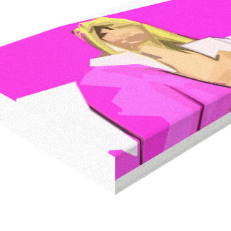 Lienzo Feminismo rosado del Bimbo
