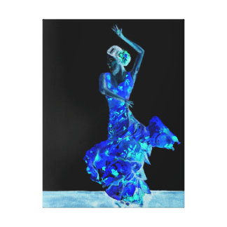 Lienzo Flamenco oscuro