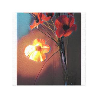 Lienzo Flor del fuego