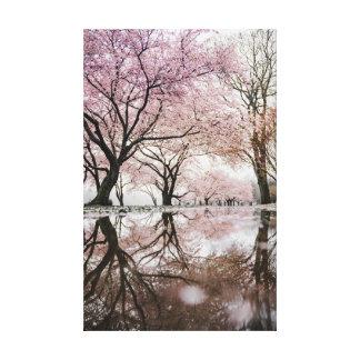 Lienzo Flores de cerezo