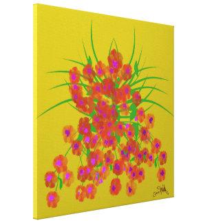Lienzo Flores de mayo