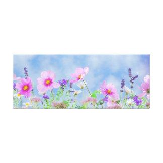 Lienzo Flores salvajes