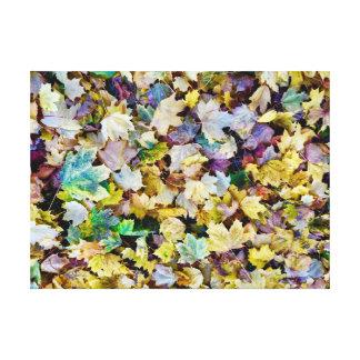 Lienzo Follaje de otoño