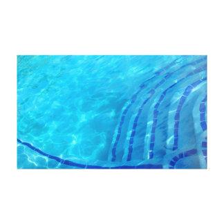 Lienzo Fondo azul abstracto
