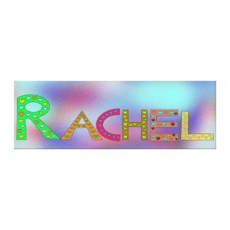 Lienzo Fondo colorido del extracto del diseño de letras