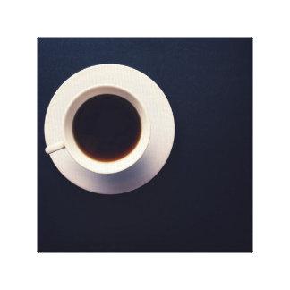 Lienzo Fotografía caliente del café del café express del