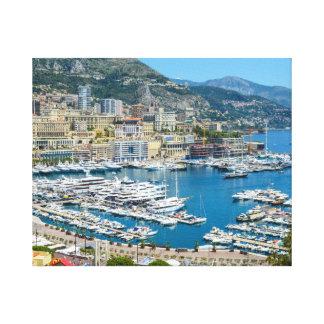 Lienzo Fotografía de Mónaco Monte Carlo