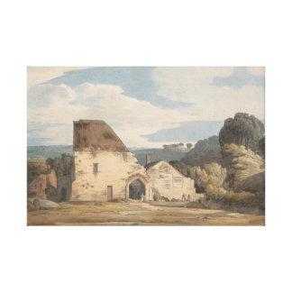 Lienzo Francisco Towne - abadía de Dunkerswell