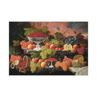 Lienzo Frutas