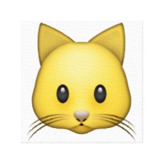 Lienzo Gato - Emoji