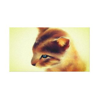 Lienzo Gato salvaje