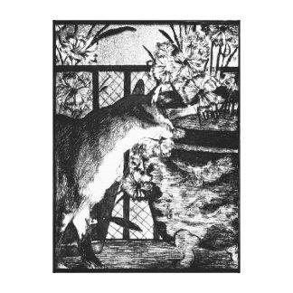 Lienzo Gato y flores de Édouard Manet