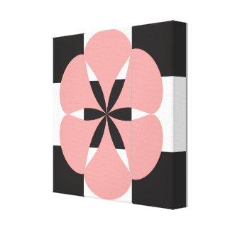 Lienzo Geometría de la flor