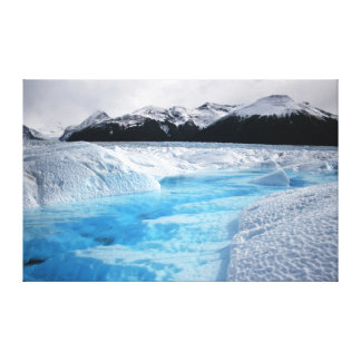 Lienzo Glaciar 36X23 de Perito Moreno de la Patagonia