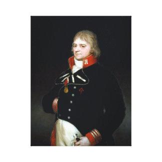Lienzo Goya Ignacio Garcini y Queralt, general de brigada