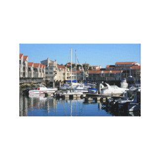 Lienzo Harbour View en el puerto St Francis