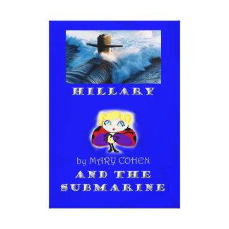 Lienzo Hillary y el submarino