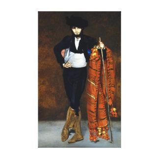 Lienzo Hombre joven de Édouard Manet en el traje de un