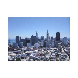 Lienzo Horizonte de San Francisco