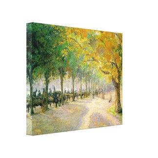 Lienzo Hyde Park de Pissarro '