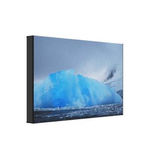 Lienzo Iceberg azul