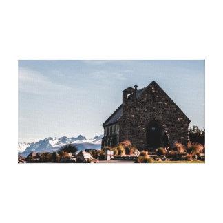 Lienzo Iglesia del buen pastor
