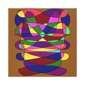 Lienzo Ilustraciones abstractas del diseño del oso