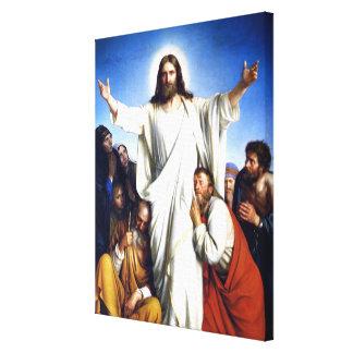 Lienzo Ilustraciones de Carl Bloch, Christus Colsulator
