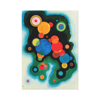 Lienzo Impulso profundizado de Wassily Kandinsky