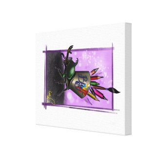 Lienzo Insecto del Doodle