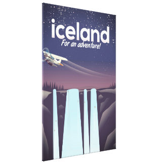 "Lienzo ¡Islandia ""para una aventura! """