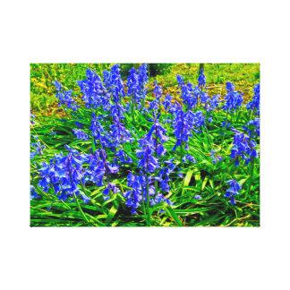 Lienzo Jardín de flores