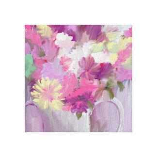Lienzo Jarra de flores