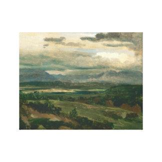Lienzo Jean-Baptiste-Camilo Corot - Civita Castellana