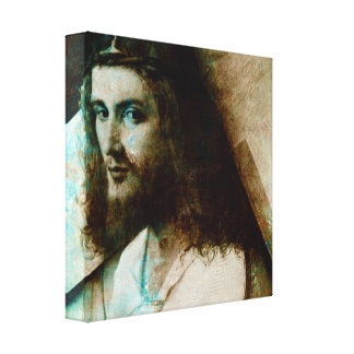 Lienzo Jesús con la cruz