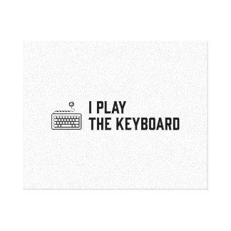 Lienzo Juego el teclado