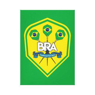Lienzo Juegos tradicionales del Pub del Brasil