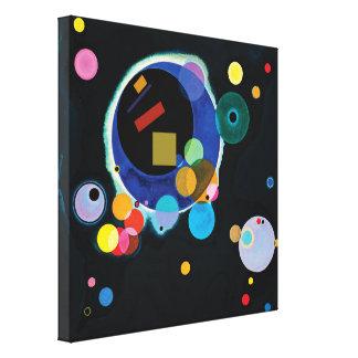 Lienzo Kandinsky + Malevich
