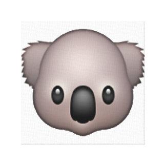 Lienzo Koala - Emoji