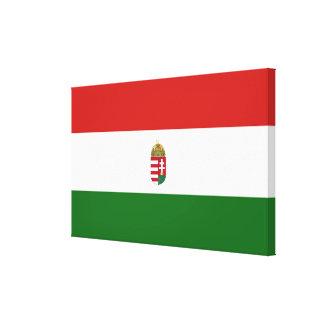 Lienzo La bandera de Hungría